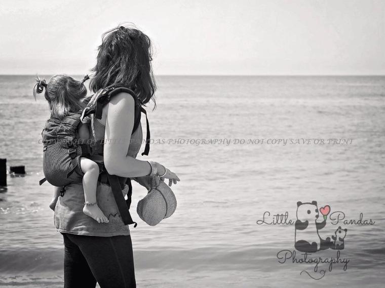 newborn photography hythe kent babywearing